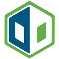 Data Dock logo - a green hexagon with a blue and white hexagonal pattern inside giving the impression of an open book and/or two back-to-back letter Ds
